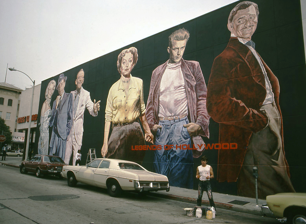 <h2>Legends of Hollywood Mural</h2>