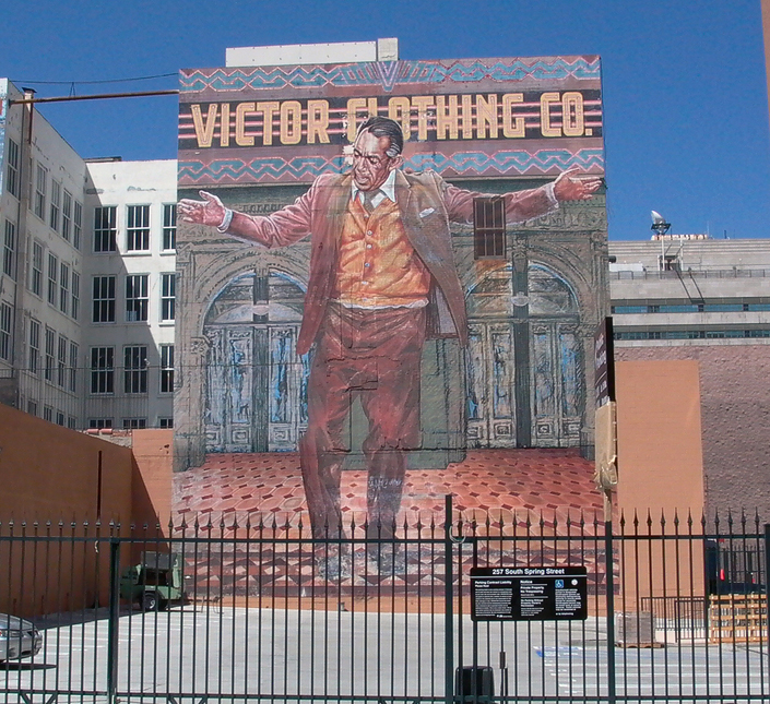 The art of eloy torrez murals for Anthony quinn mural